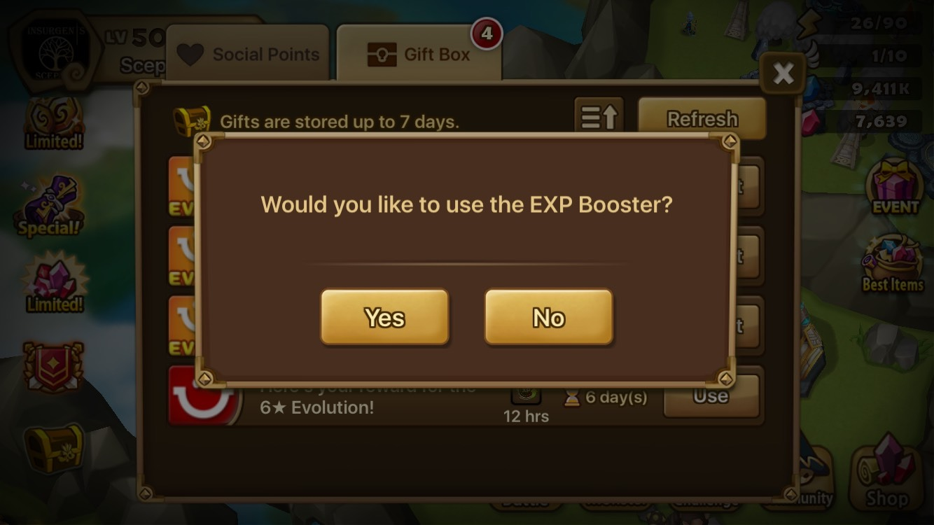EXP Booster