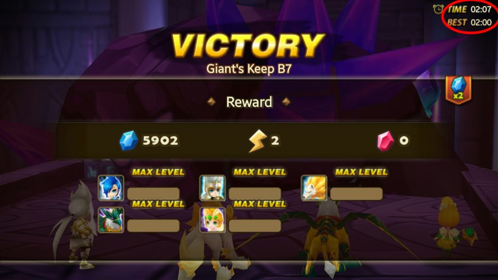 SW GB7 cleartime