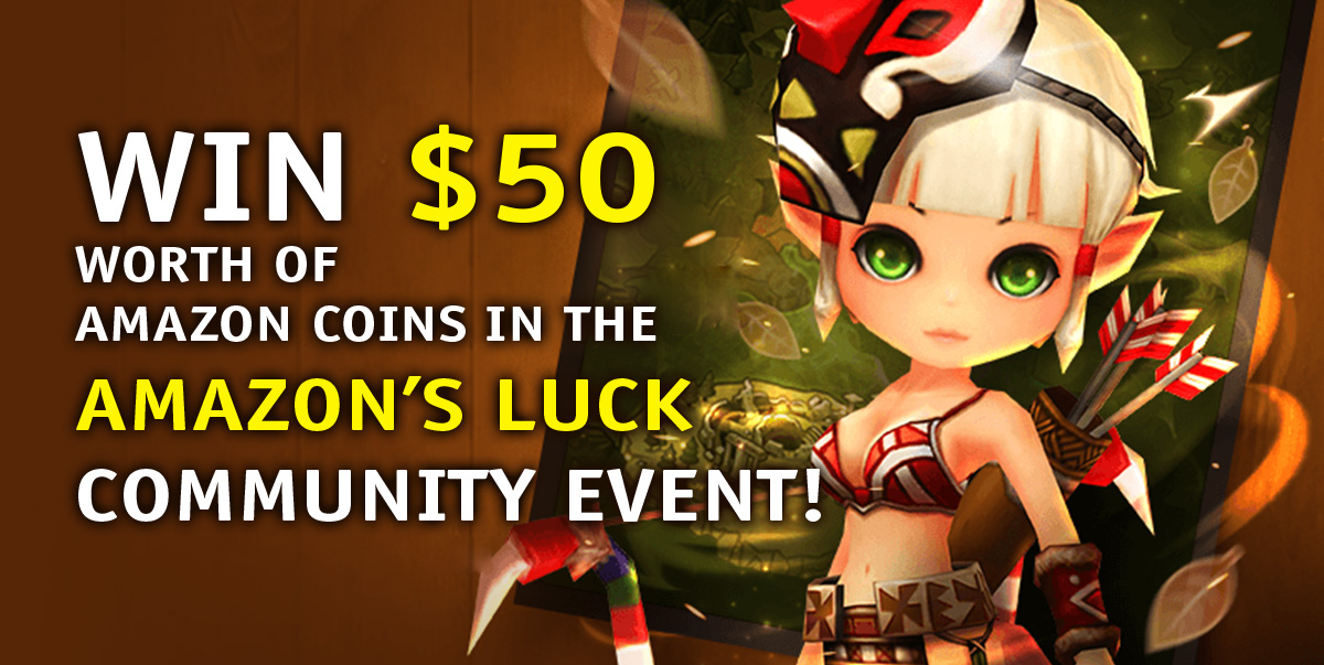 Win $50 Worth of Amazon Coins in the Amazon's Luck Community Event! - Summoners  War Ratings Guide